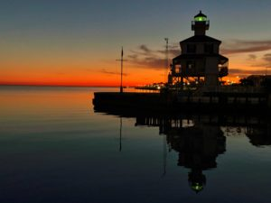 Taylor Naquin - New Canal Lighthouse Night